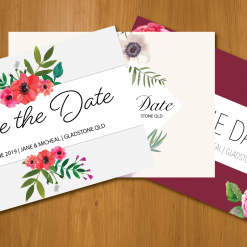 Save the dates pack